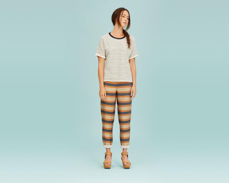 Libertine-Libertine – dámské oblečení – pruhované tričko, pruhované kalhoty