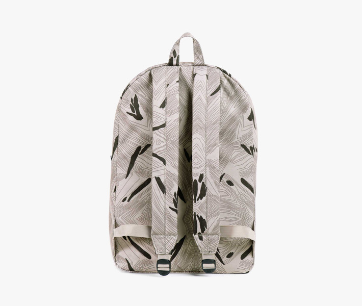 Batoh Herschel Supply – Classic Backpack, Geo, šedý