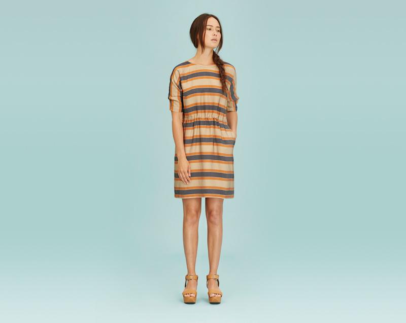 Libertine-Libertine – dámské oblečení – pruhované letní šaty