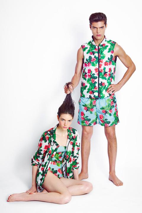 MSGM x Toiletpaper – výstřední bunda, vesta a šortky s motivy růží