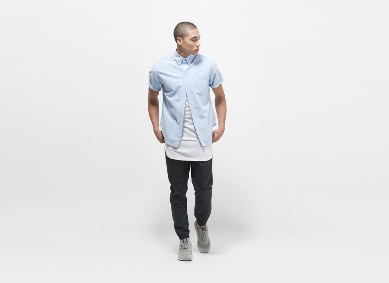 Publish – pánské kalhoty joggers, tmavě modré, s gumou na nohavicích