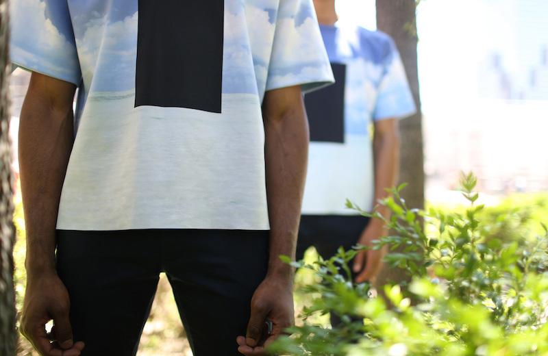 Calvin Klein & The No Names — kolekce Head in the Clouds, luxusní trička s potiskem