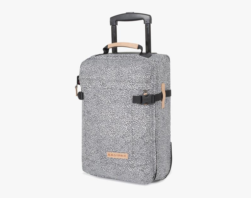 Eastpak – leopardí cestovní kufr