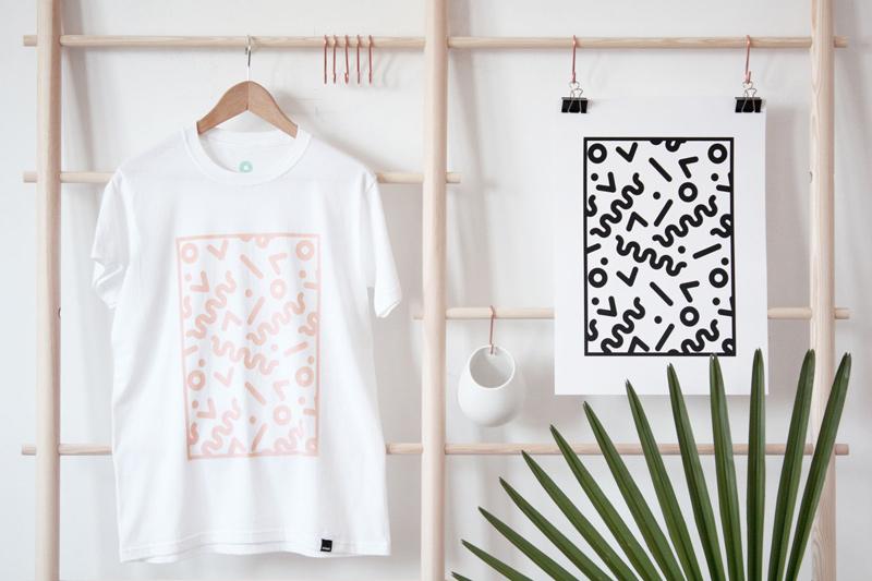 Noway – tričko s potiskem, bílé, pánské, dámské