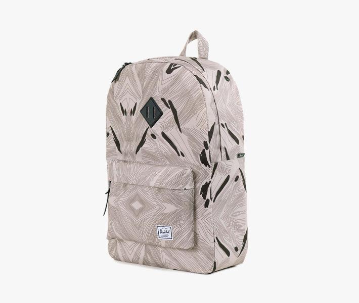 Stylový batoh Herschel Supply – Heritage Backpack, Geo, šedý, vzorovaný