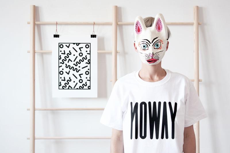 Noway – dámské tričko s potiskem