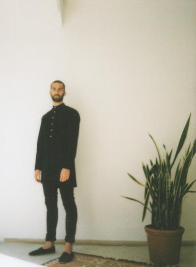 Omniboys – černá dlouhá košile, pánská, dlouhý rukáv