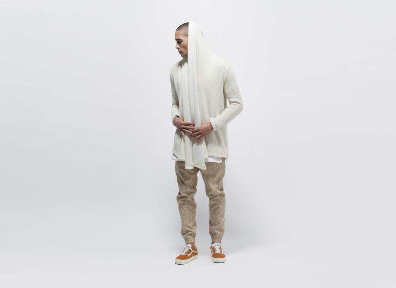 Publish – pánské pískové kalhoty s gumou na nohavicích, joggers