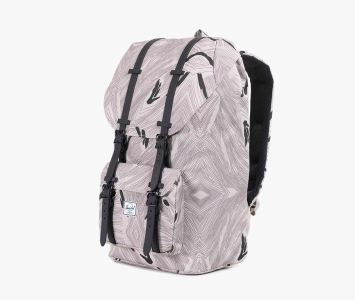 Stylový batoh Herschel Supply – Retreat Backpack, Geo, šedý, vzorovaný