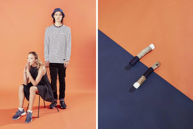 Huffer – steetové oblečení, pánské tričko s proužky