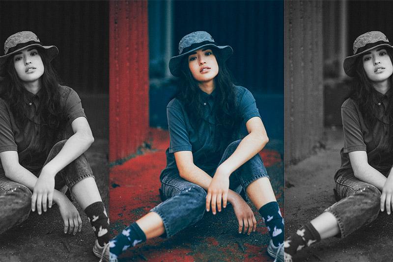 Raised by Wolves – oblečení, modrá košile, klobouk