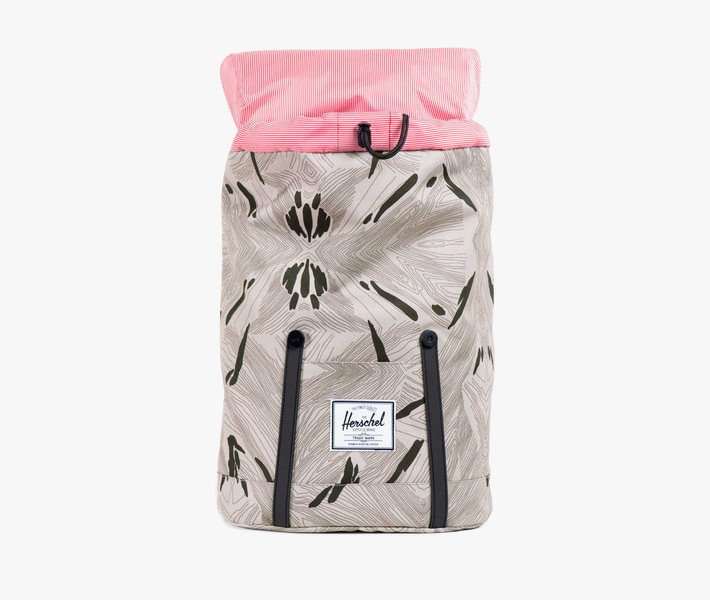 Plátěný batoh Herschel Supply – Little America Backpack, Geo, šedý