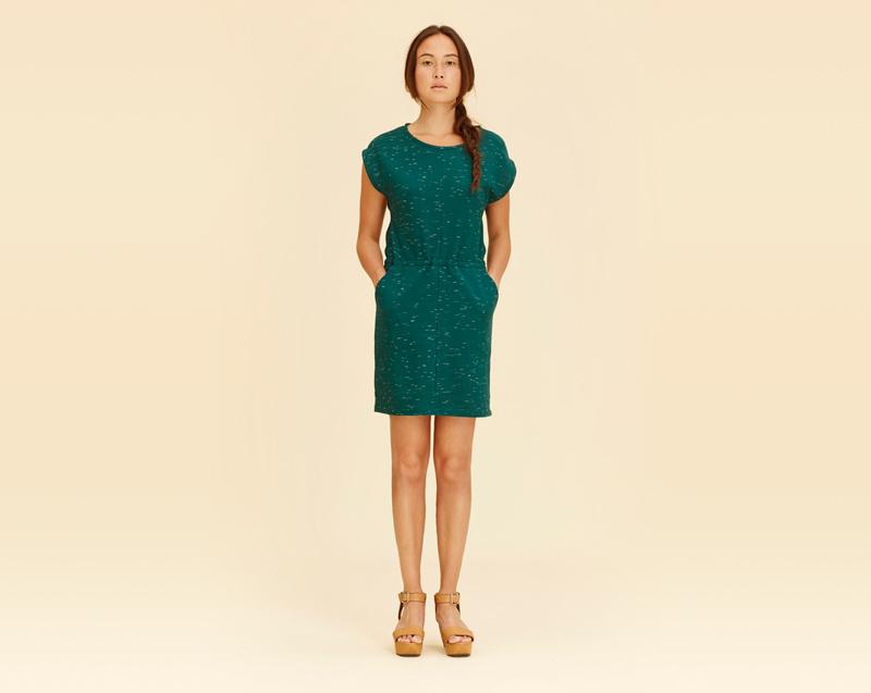 Libertine-Libertine – dámské oblečení – zelné letní šaty