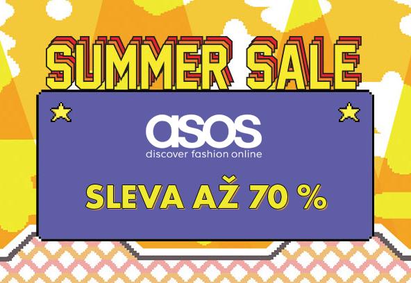 E-shop Asos – letní slevy až 70 %