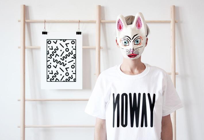 Noway – trička s potiskem