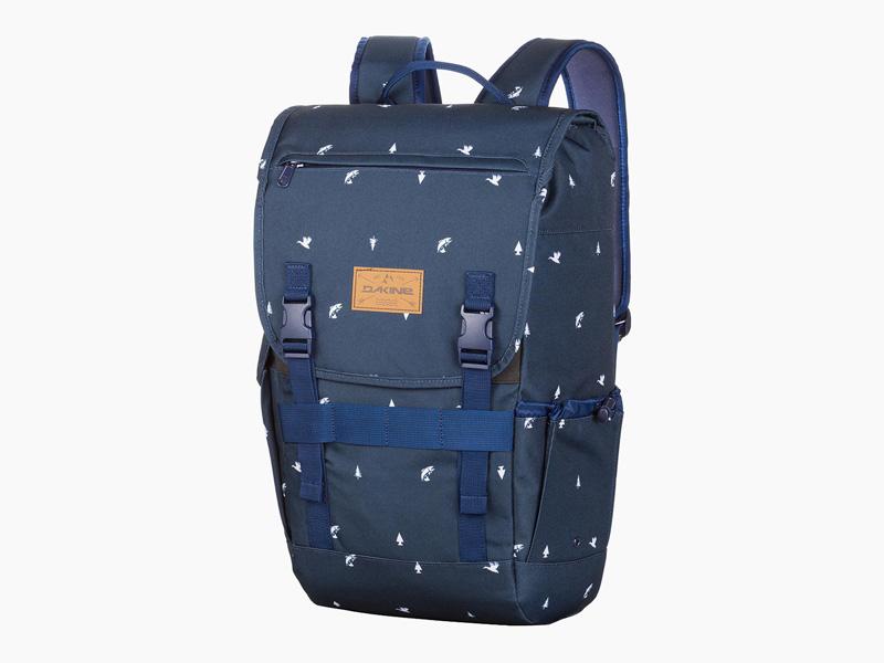 Dakine – modrý batoh na záda, školní batoh, městský pohodlný skate batoh, Ledge, 25 l | Batohy Dakine