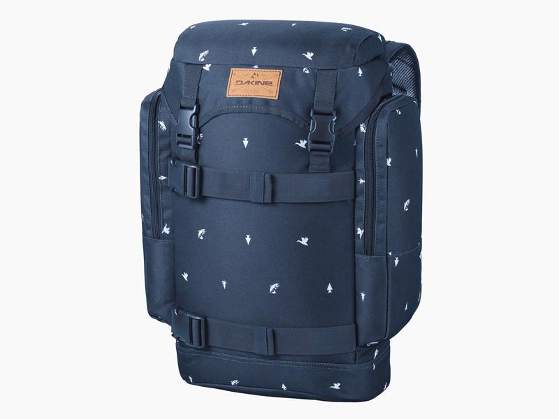 Dakine – modrý batoh na záda, školní batoh, městský pohodlný skate batoh, Lid, 26 l | Batohy Dakine