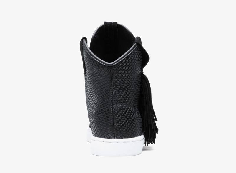 Supra Western – černé dámské boty, vysoké tenisky, kotníkové boty, sneakers