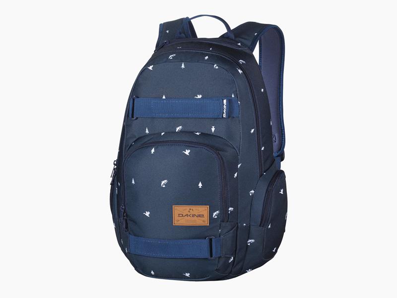 Dakine – modrý batoh na záda, školní batoh, městský pohodlný skate batoh, Atlas, 25 l | Batohy Dakine