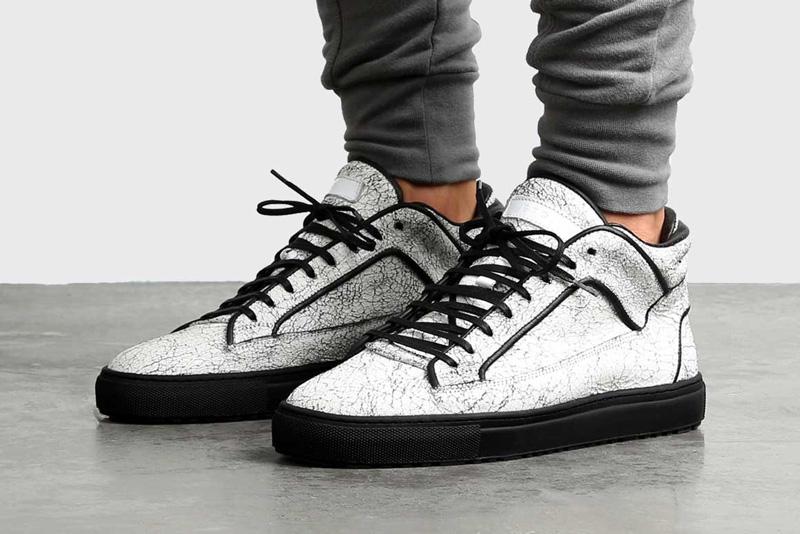 ETQ Amsterdam – luxusní bílé kotníkové boty s mramorovým vrozem, tenisky, pánské a dámské, sneakers