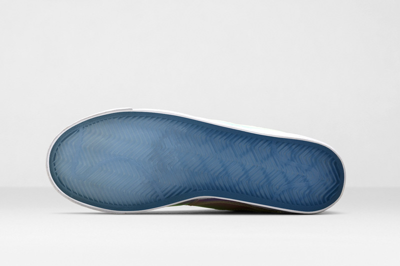 Nike Blazer Mid Iridescent – dámské boty duhové barvy, lesklé | Dámské tenisky Nike | Sneakers