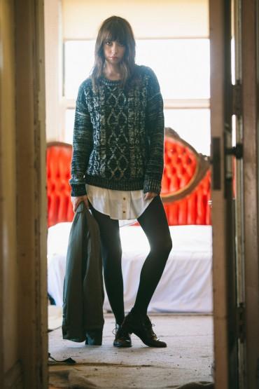 Obey – dámský hřejivý svetr | Dámské oblečení – podzim/zima 2014