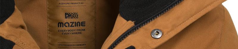 Mazine – pánské zimní bundy a parky s kapucí
