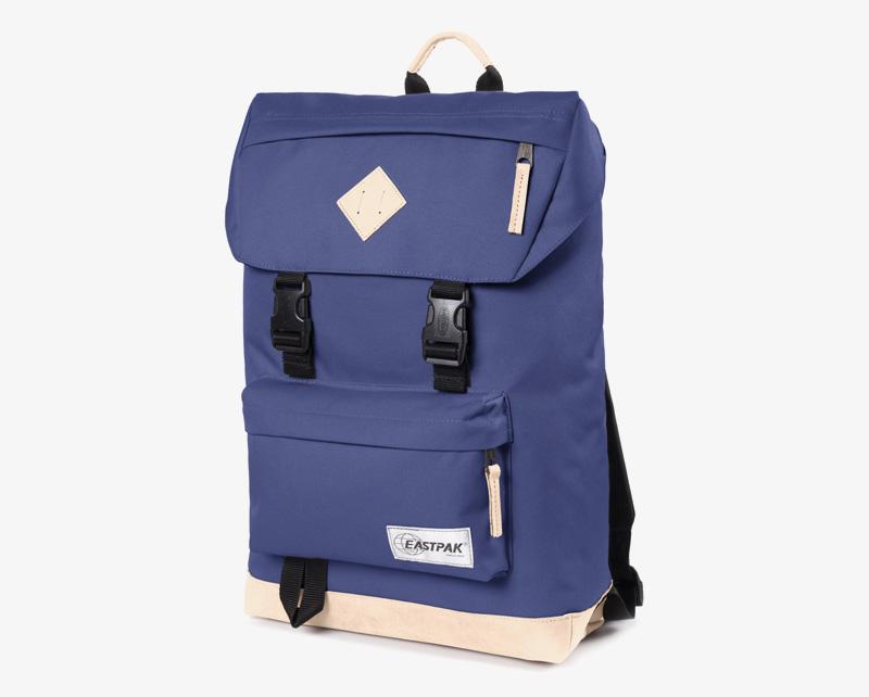 Eastpak Rowlo – plátěný batoh tmavě modrý, stylový batoh | Plátěné batohy na záda