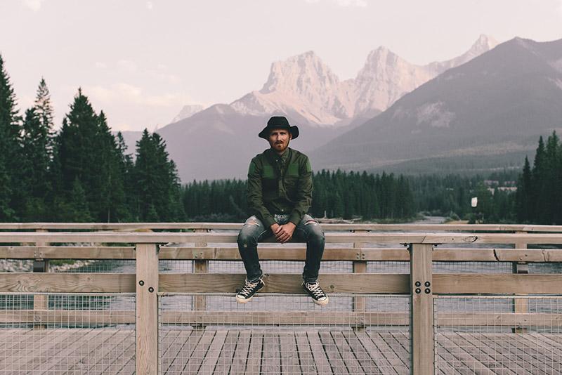 Raised by Wolves – pánská zelená košile/blůza, dlouhý rukáv | Pánské podzimní/zimní oblečení