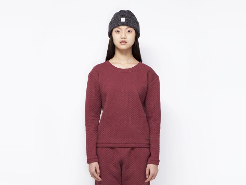Ucon Acrobatics – dámský červený svetr/mikiny | Dámské značkové oblečení