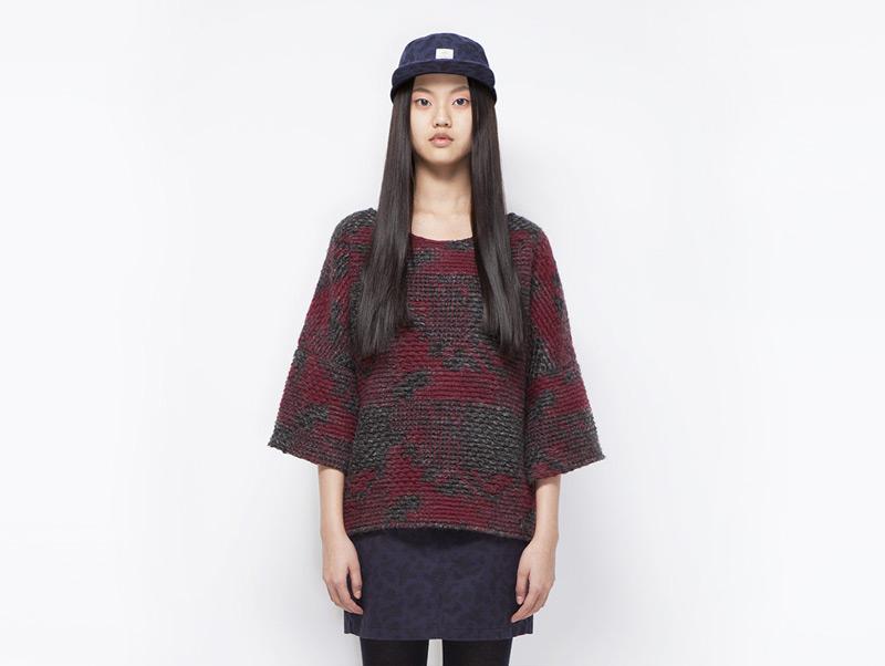 Ucon Acrobatics – dámský vlněný svetr červený | Dámské značkové oblečení