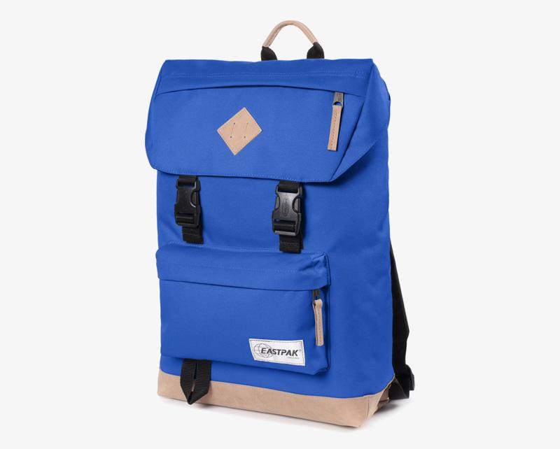 Eastpak Rowlo – plátěný batoh modrý, stylový batoh | Plátěné batohy na záda
