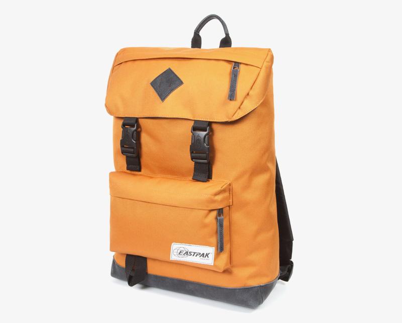 Eastpak Rowlo – plátěný batoh žlutý, stylový batoh | Plátěné batohy na záda