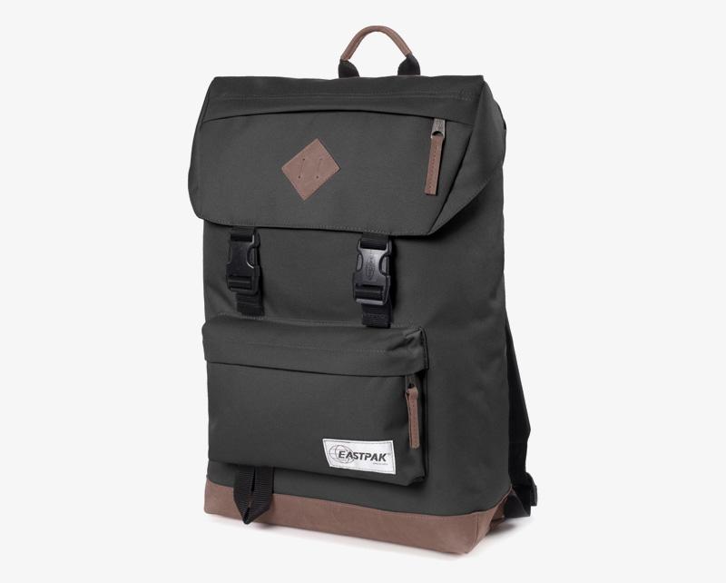 Eastpak Rowlo – plátěný batoh černý, stylový batoh | Plátěné batohy na záda
