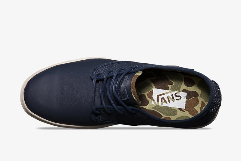 Vans Ludlow – modré boty, tenisky, sneakers, pánské a dámské