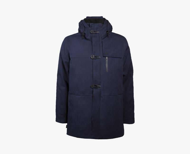 Pánská zimní bunda (parka) s kapucí — Mazine Tokyo — modrá | Pánské zimní bundy a parky s kapucí