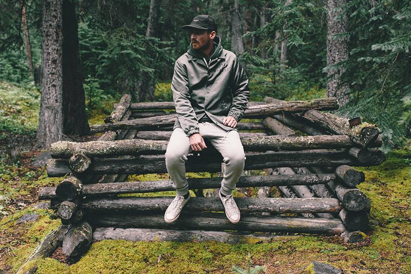 Raised by Wolves – nepomoková podzimní bunda, tmavě zelená, pánská | Pánské podzimní/zimní oblečení