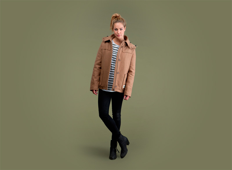 Wemoto – dámská podzimní/zimní bunda – hnědá | Dámské podzimní/zimní oblečení