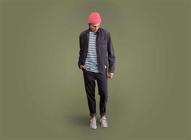 Wemoto – pánské sportovní/streetové tmavě šedé sako, tmavě šedé kalhoty – pánské | Pánské podzimní/zimní oblečení