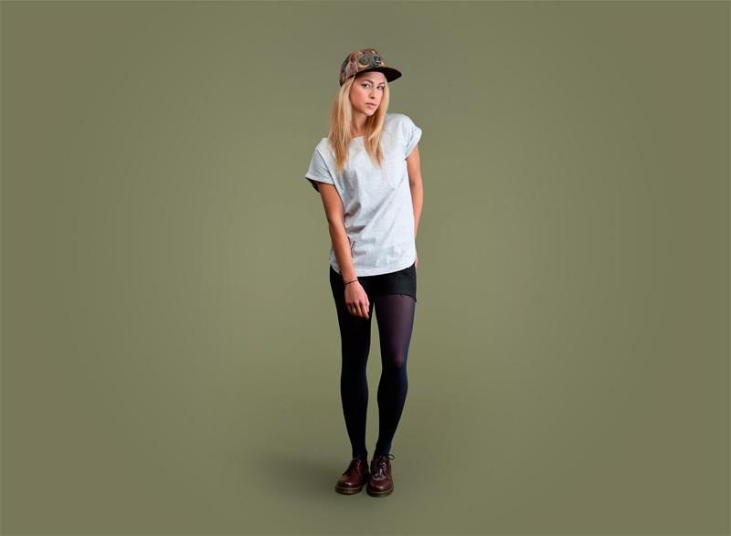 Wemoto – dámské světlé tričko se skvrnami | Dámské podzimní/zimní oblečení