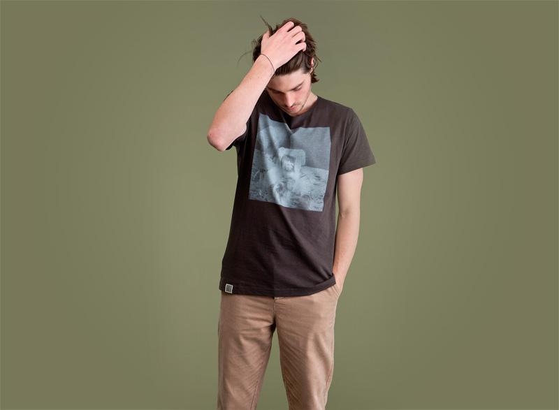 Wemoto – pánské tričko s potiskem – přistání na měsíci | Pánské podzimní/zimní oblečení
