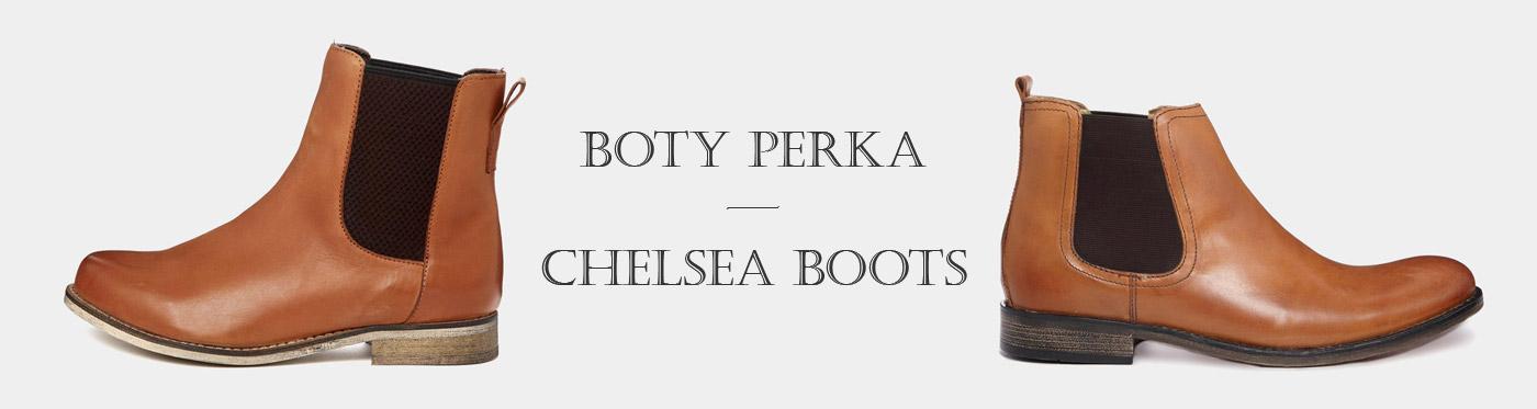 Boty perka čili Chelsea Boots – pro pány i pro dámy
