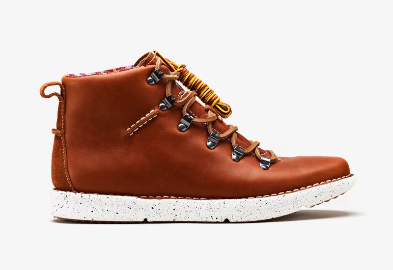 Pánské zimní boty ohw? – Dan, podzimní boty, hnědé, kožené | Vysoké kotníkové boots