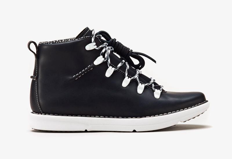 Pánské zimní boty ohw? – Dan, podzimní boty, černé, kožené | Vysoké kotníkové boots