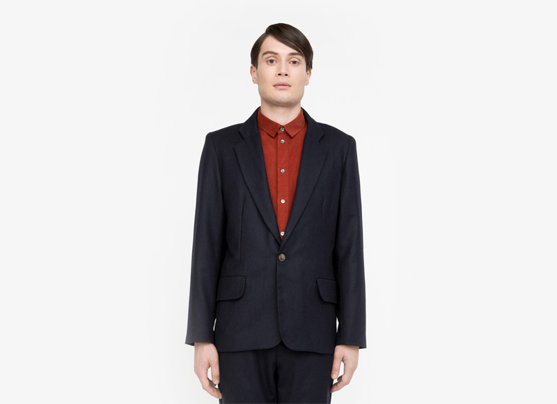 Frisur – pánské sako, tmavě modré | Podzimní a zimní oblečení – pánské