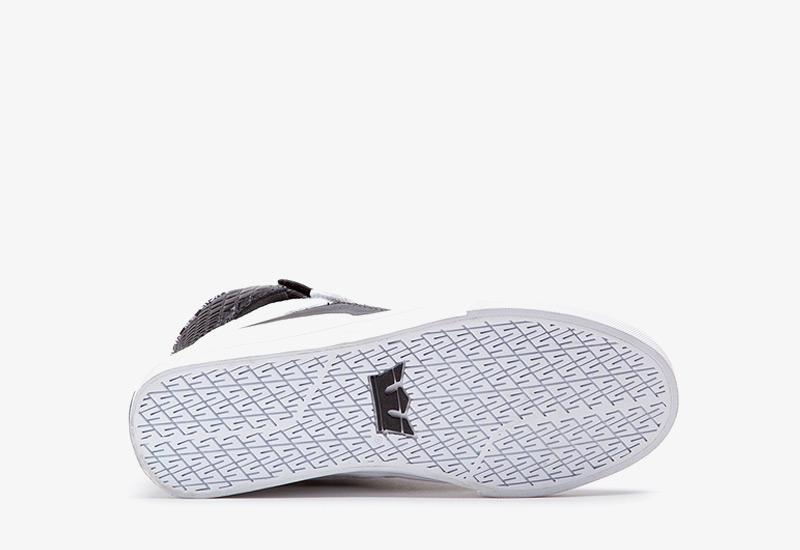 Boty Supra Society II – černo-bílé, kožené | Dámské a pánské kotníkové boty, sneakers
