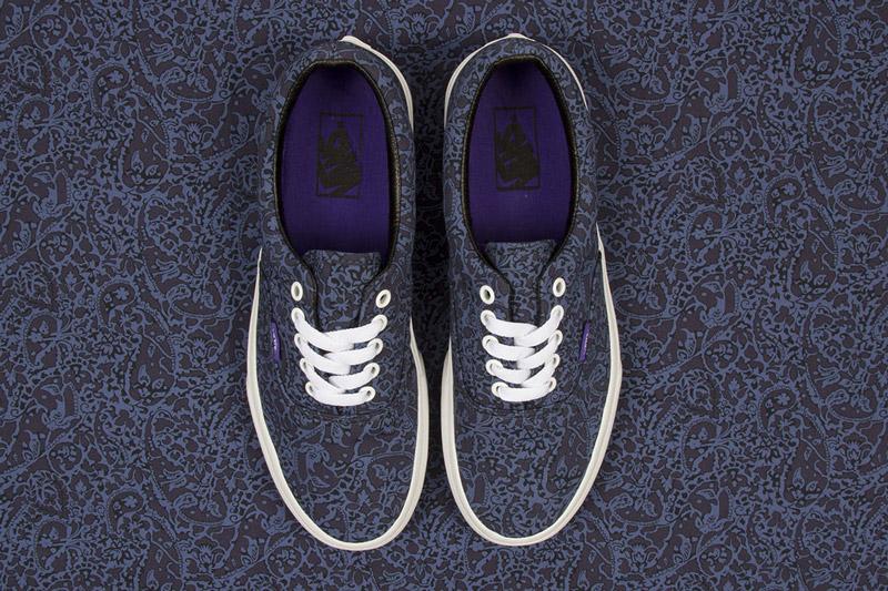 Boty Vans x Liberty – Era – modré s rostlinným vzorem Bay Laurel | Pánské a dámské nízké tenisky Vans