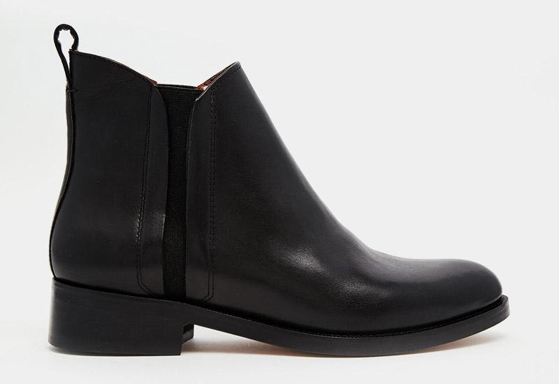 Boty perka – Chelsea Boots – dámské, kožené, – černé | Kotníkové boty – dámské