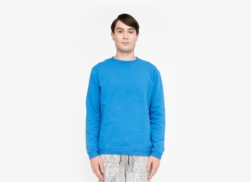 Frisur – pánská mikina, modrá, tyrkysová | Podzimní a zimní oblečení – pánské