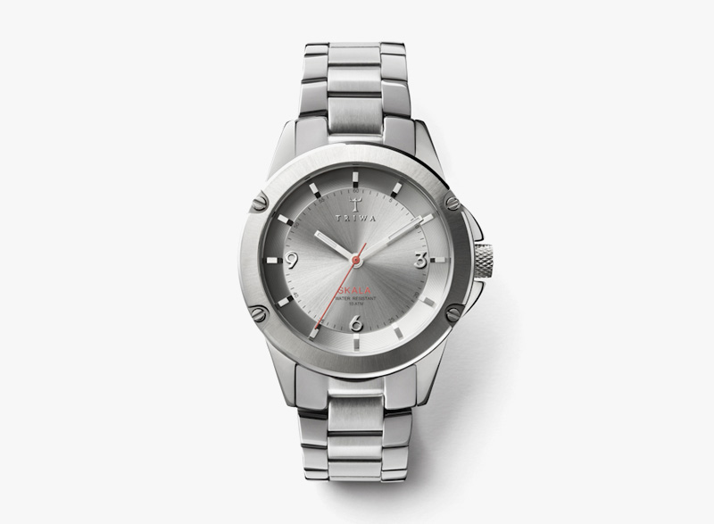 Hodinky Triwa – dámské – ocelové, stříbrná barva – Stirling Skala | Náramkové luxusní hodinky